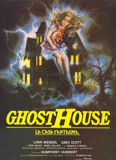 'ghosthouse' 1988 movie poster.