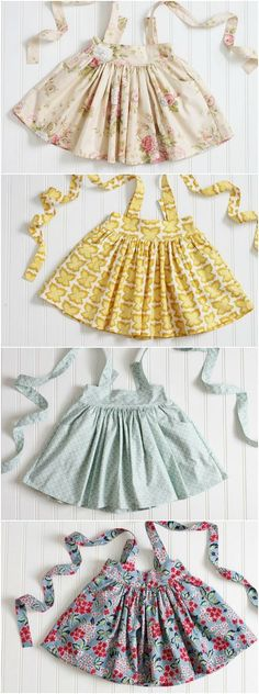 Pretty Handmade Suspender Skirts | CarlieJaye on Etsy