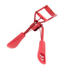 Red Crystal Striped Heart Eyelash Curler | Claire's