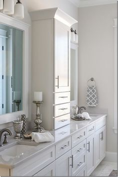 Muhteşem Banyo Dolabı Dekorasyon Fikirleri (7)