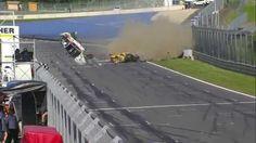 Schwerer Crash beim GT4-Rennen auf dem Red Bull Ring (Video)