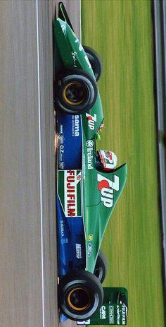 Jordan 191 F1 Motorsport, Force India, Ferrari F1, Car Posters, F1 Racing, F 1, Formula One, Custom Cars, Grand Prix