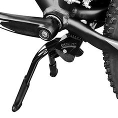 """Product review for BV Bicycle Black Adjustable & Foldable Double Leg Kickstand Storage - BV Double Leg, Adjustable & Foldable Bicycle Kickstand for Size 24""""-28"""" Aluminum Alloy – Sturdy & Build to Last  BV black adjustable and foldable double leg kickstand is a sturdy way to prop the bike when not riding. The double kickstand protects bike chains from getting..."""