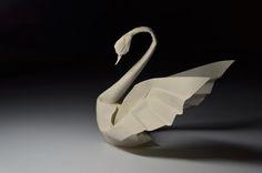 Origami Artist Creates Charming Animals with Unique Wet Folding Technique - My Modern Met