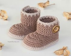 15 Adorable Baby Bootie Patterns