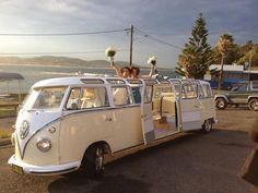 How cool is this VW Limobus from Kombi Limousines? Looks like we may have to take a trip to Wales to enjoy...
