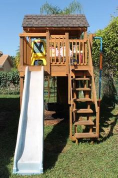 Ideal Kinderspielturm Max mit Terrasse Finn Art Blockhaus Kind Gartenspielhaus Pinterest