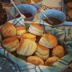 Homemade scones & jam <3