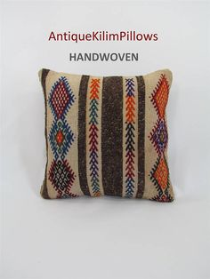 Check out this item in my Etsy shop https://www.etsy.com/listing/514751780/kilim-pillow-case-southwestern-pillow