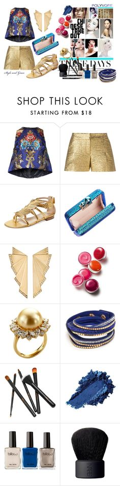 """""""Shy Nah Doll"""" by bettyboopbbw69 ❤ liked on Polyvore featuring Romance Was Born, Lanvin, Jerome C. Rousseau, Sophia Webster, Ileana Makri, Clinique, TARA Pearls and NARS Cosmetics"""