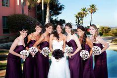 plum- love the bouquets!!!!!