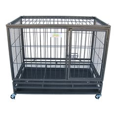 Found it at Wayfair - Steel Pet Crate