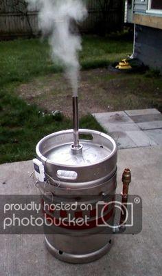 *Beer Keg BBQ Grill* - Page 5 - The BBQ BRETHREN FORUMS. Barrel Bbq, Barrel Smoker, Drum Smoker, Uds Smoker, Custom Bbq Smokers, Custom Bbq Pits, Custom Bbq Grills, Backyard Bbq Pit, Backyard Landscaping