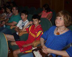 Algunos de los participantes, durante la presentación de las buenas experiencias.