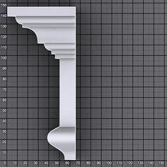 Sweep Profile Shapes vol.1   Kstudio - 3ds Max Plugins & Scripts Types Of Crown Molding, Exterior Window Molding, Cornice Design, Villa Plan, Home Design Floor Plans, 3ds Max, Ceiling Design, Modern House Design, Profile