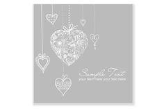Hand Drawn Wedding invitation card by GraphicMarket on @creativemarket