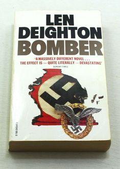 Len Deighton Bomber A Novel Of War Paperback Novels, Lens, War, Store, Books, Livros, Tent, Shop Local, Larger