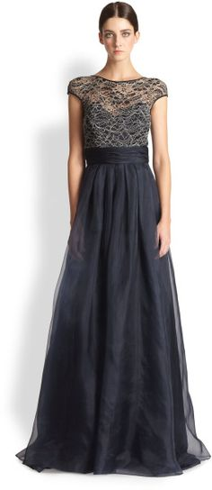 Love this: Lacebodice Ball Gown @Lyst