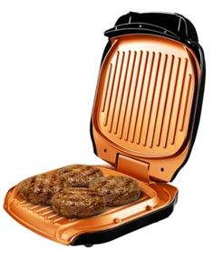 Gotham Steel Electric Grill As Seen On TV Lg Cooking Ceramic Surface Healthy Grilling, Grilling Recipes, Healthy Cooking, Indoor Electric Grill, Indoor Grill, Cooking For A Group, New Cooking, Cooking Steak, Cooking Oil