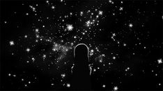 Find images and videos about gif, black and white and stars on We Heart It - the app to get lost in what you love. Anime Gifs, Anime Art, Wattpad, Main Manga, Anime Galaxy, Dark Energy, Simple Photo, Aesthetic Gif, Anime Scenery