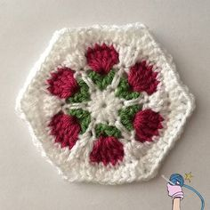 Check out the 2 different hexagon patterns on my blog. Which one is your…