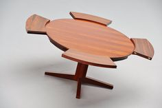 Dyrlund Extendable Rosewood Dining Table Denmark 1962 | Mass Modern Design