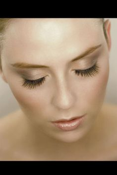 """Vogue Germany: """"The Global Leader in Eyelash Extensions offers a special service that helps brides with their dream of eyelashes... The breathtaking result looks absolutely natural..."""""""