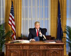 Comedy Central Unveils 'The President Show' Weekly Series Starring Anthony Atamanuik As Donald Trump