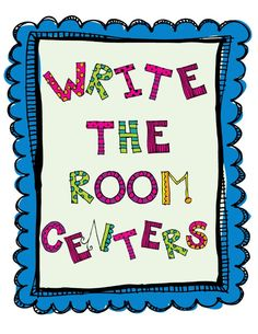 FREEBIE-Write the room centers for beginning sounds  By: Flying into First Grade: