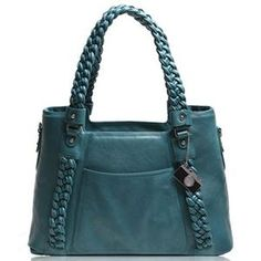 Epiphanie Clover Shoulder Bag, Teal: Picture 1 regular - $184.99