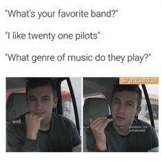 I accidentally posted this on my personal account yikesTags twentyonepilots twentyonepilotsedits twentynepilts clique skeletonclique joshdun tylerjoseph trench tp banditotour bandito Tyler Joseph, Tyler Y Josh, Twenty One Pilot Memes, Twenty One Pilots Art, Josh Dun, Top Memes, Funny Memes, Emo Band Memes, Emo Bands
