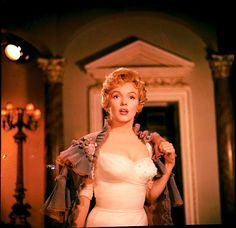 Marilyn Monroe in The Prince and the Showgirl, 1957.