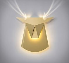 Luminárias Popup Lighting Designer Chen Bikovski de Popup Lighting, criou uma coleção de luminárias inspiradas em livros infantis. São luminárias que quando acesas, aparecem imagens complementares refletidas na parede. Estas luminárias modernas se transformam em animais quando iluminadas! #luminárias #designer