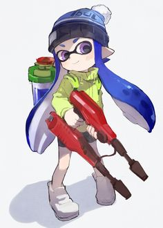Splatoon drawing