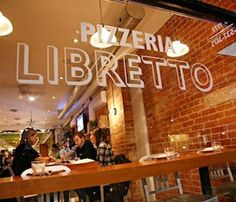 VPN Certified Pizzeria Libretto on Ossington in Toronto. Simply the best pizza outside of Naples.
