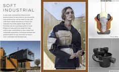 WGSN AW17/18 Trend themes - Soft Industrial