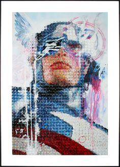 Captain America ~ No More Heroes by Joe Black