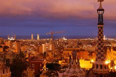 Barcelona – the backdrop to the Woody Allen-directed film Vicky Cristina Barcelona (2008)