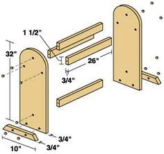 Building A Quilt Rack