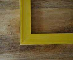 Yellow Color Pop Retro Custom Wood Art & Picture by TheFrameFarm