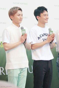 #Chenmin are so cute *_* #Chen #Xiumin