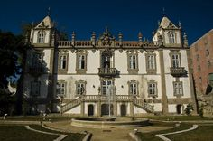 The Baroque Palace of Freixo was built in the 18th century.