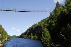 Passerelle 22 mètres parc Aiguebelle by Tourisme Abitibi-Témiscamingue, via Flickr