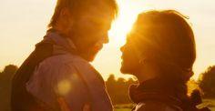 """Bathsheba & Gabriel Oak (Matthias Schoenaerts) in """"Far from the Madding Crowd"""""""