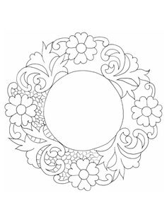 Desen Hand Embroidery Tutorial, Free Machine Embroidery Designs, Embroidery Patterns, Mandala Coloring, Colouring Pages, Coloring Books, Cutwork Embroidery, Parchment Craft, Embroidery Techniques