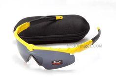 ec597ff4a7 Discount Oakley M Frame Sunglass Yellow Frame Black Lens Outlet   Cheap  Oakleys Sunglasses