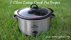 7 Clean Eating Crock