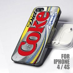 Favorite Diet Coke Tin design for iPhone 4 or 4s case