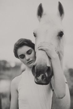 REMINDS me of me and Brandy my horse I have a picture just like this