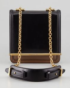 Belstaff Chain Compartment Shoulder Bag